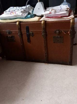 Malle Vintage en cuir