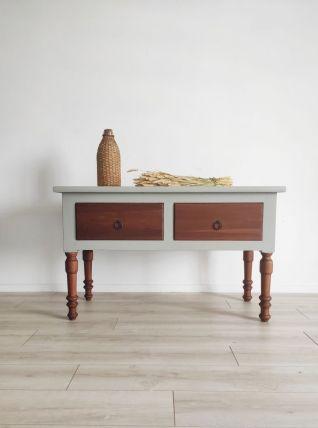 Table présentoir