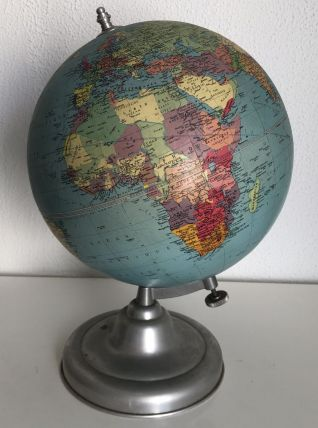 Globe terrestre tripode Taride vintage 1961 - 37 cm
