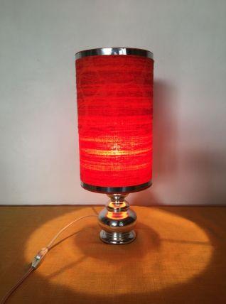 Lampe année 70 orange