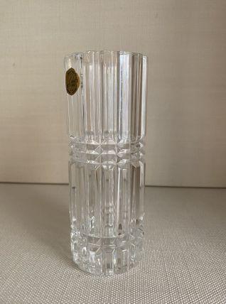 Crystal vase d'arques