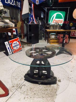 Presse industrielle Table basse