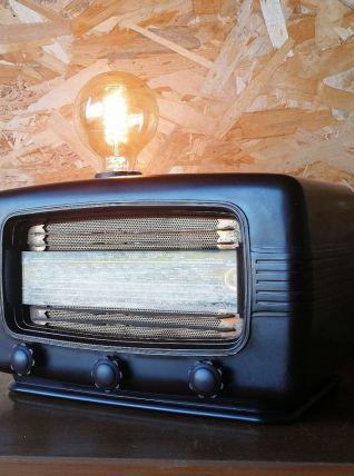 "Lampe industrielle, lampe vintage - ""Silence Radio"""