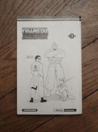 FullMetal Alchemist- Tome 3- Hiromu Arakawa- Kurokawa