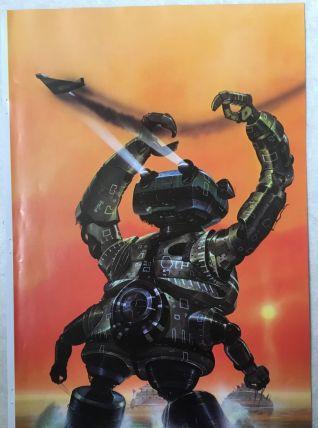 Science Fiction Art – Illustration de Chris Foss – années 70