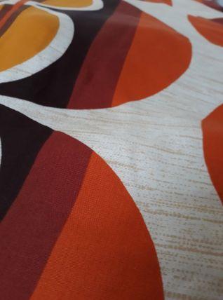 Edredon tissu années 70