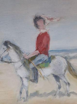 Peinture sur toile les Cavaliers.