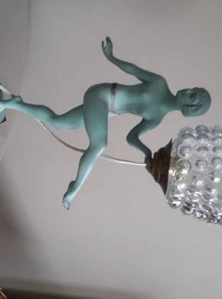 Lampe danseuse art-déco
