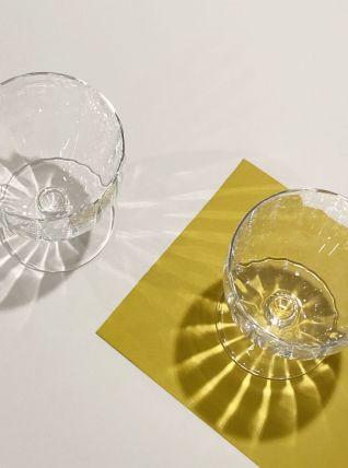 verres à vin ou apéritif en cristal