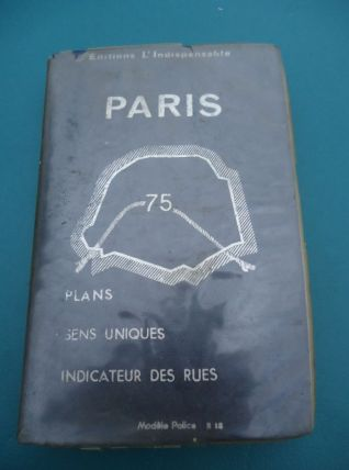 Plans de Paris, Rues,métro, périf,bois, 200pages