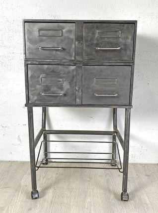 Meuble à casiers Flambo vintage 70's