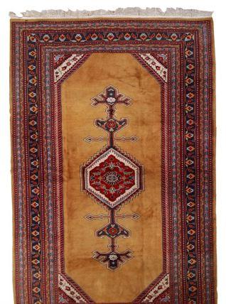 Tapis vintage Ouzbek Bukhara fait main, 1C715