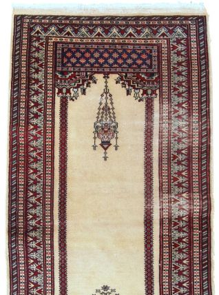 Tapis vintage Pakistanais Lahore fait main, 1C716
