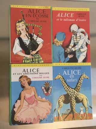 Lot de 4 romans Alice