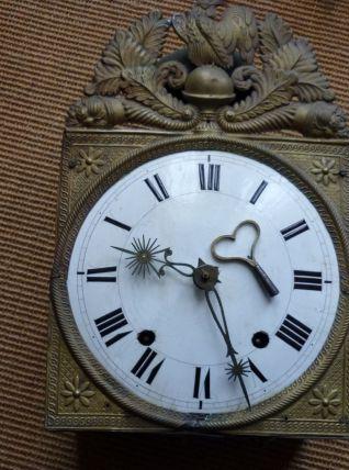 beau mouvement d'horloge pendule vintage cloche