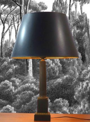 LAMPE DE TABLE DE STYLE NÉOCLASSIQUE XIX