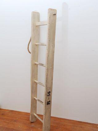 Échelle de bibliothèque en bois 153 cm