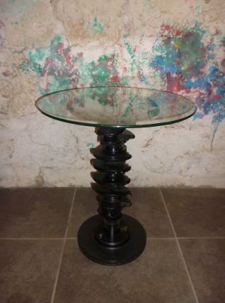 TABLE BASSE INDUSTRIEL - VILEBREQUIN