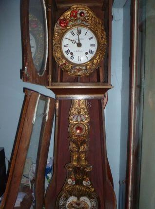 mécanisme horloge comtoise