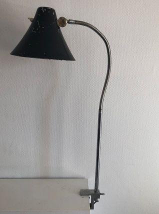 Grande lampe vintage 1950 industrielle usine - 75 cm