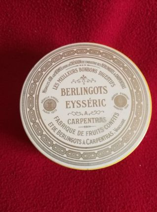 Boîte en fer '' BERLINGOTS Eysséric ''