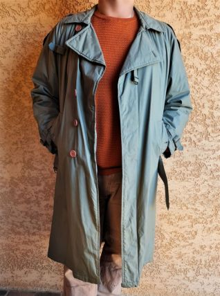 Trench Coat Vintage Homme