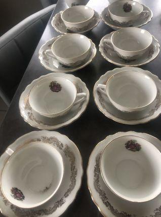 Service à café porcelaine