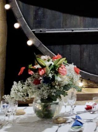 lot 20 vases boulesmariage - centre de table, bonbonnière...