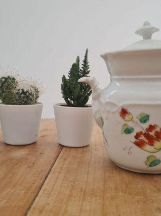 sucrier en porcelaine