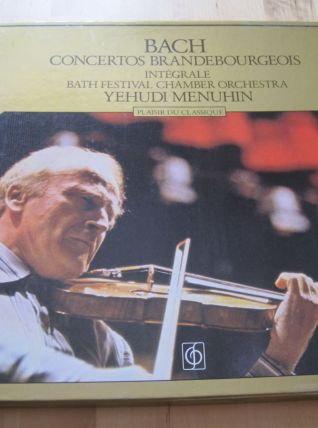 Coffret vinyles 2 disques 33 tours  Bach  contertos