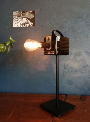 """Lampe vintage, lampe d'ambiance """"Cheese"""""""
