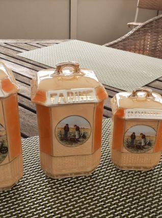 Pots à épices vintage