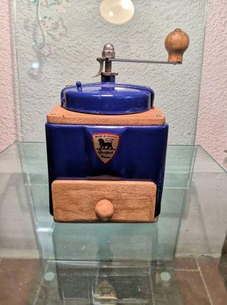 Moulin à café Peugeot bleu électrique