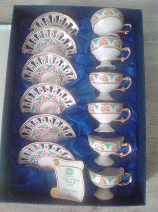 Service porcelaine Florentine Italie