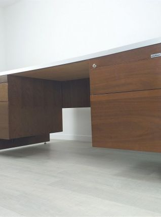 Bureau président design Italien Ciolino années 70 vintage
