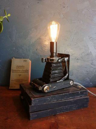 "Lampe vintage, lampe d'ambiance ""Sepia"""