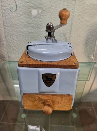 Moulin à café Peugeot bleu ciel