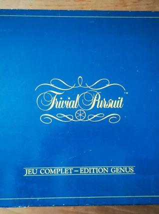 JEU DE SOCIETE - TRIVIAL PURSUIT - EDITION GENUS - 1984