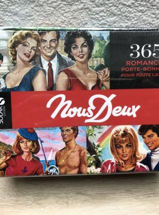 """Ephéméride """" Nous Deux """" cartes vintage"""
