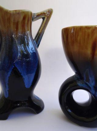 Vases style Vallauris