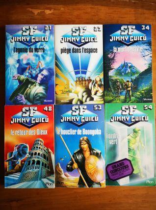 LOT DE 14 LIVRES -JIMMY GUIEU - EDITION PLON & VAUGIRARD