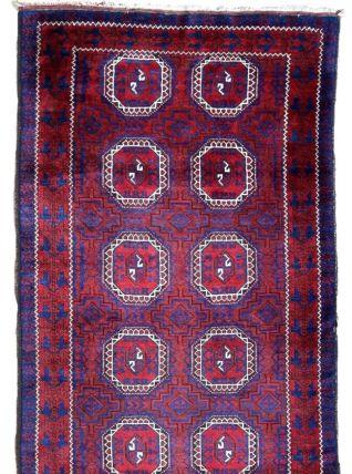 Tapis ancien Afghan Baluch fait main, 1P84