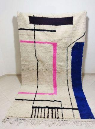 250x150cm Tapis Berbere Marocain Azilal