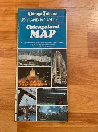 Carte ville de Chicago 1989