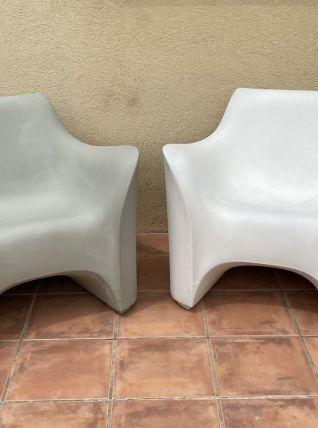 Paire de fauteuils TOKYO POP par Tokujin YOSHIOKA. 2002.