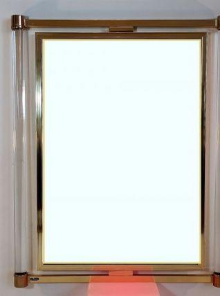 Magnifique et très rare miroir de la Maison  LE DAUPHIN