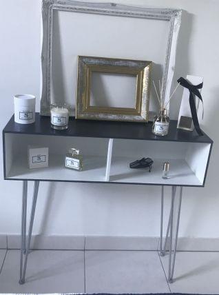 Console en bois/métal