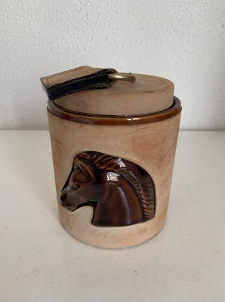 Porte-cigarettes vintage 1960 Longchamp daim cheval - 11 x 1