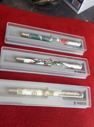 trio stylos parker lucky strike