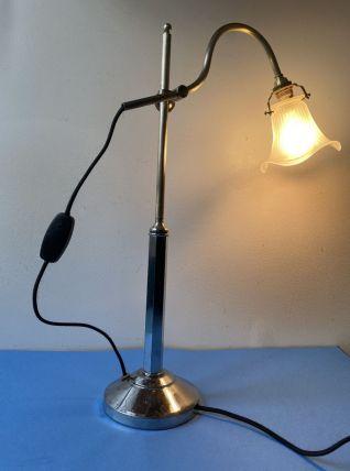 Ancienne LAMPE vintage monte et baisse